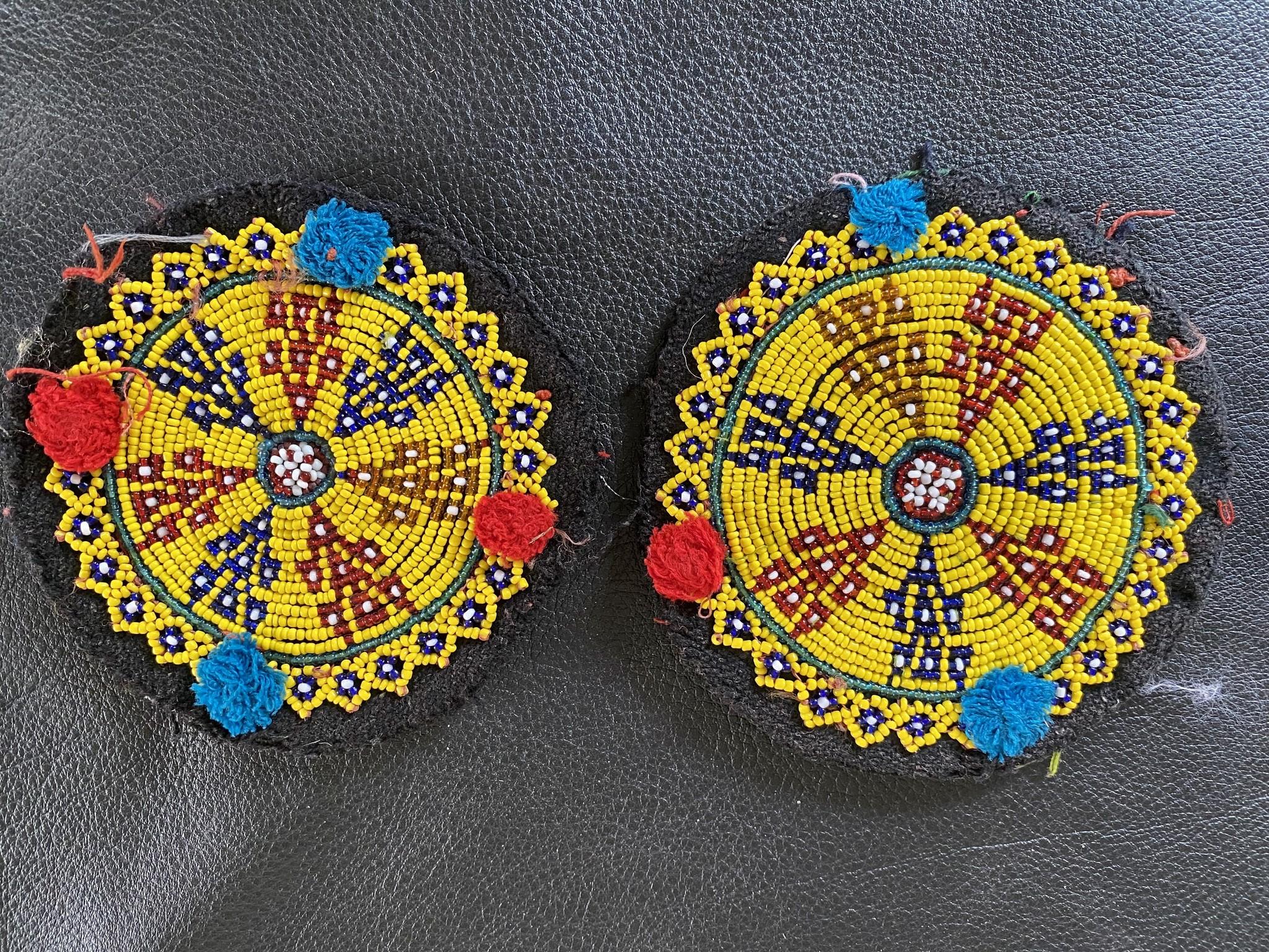 Tribal Beadwork, pair