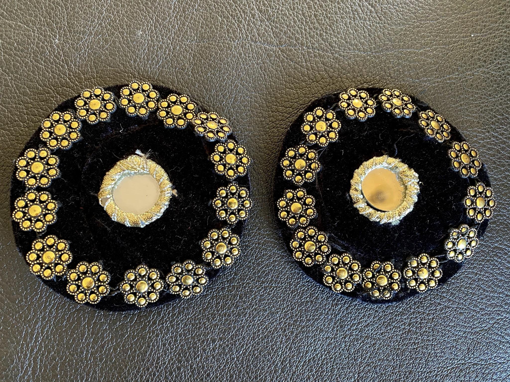 Tribal Medaillons black/ gold