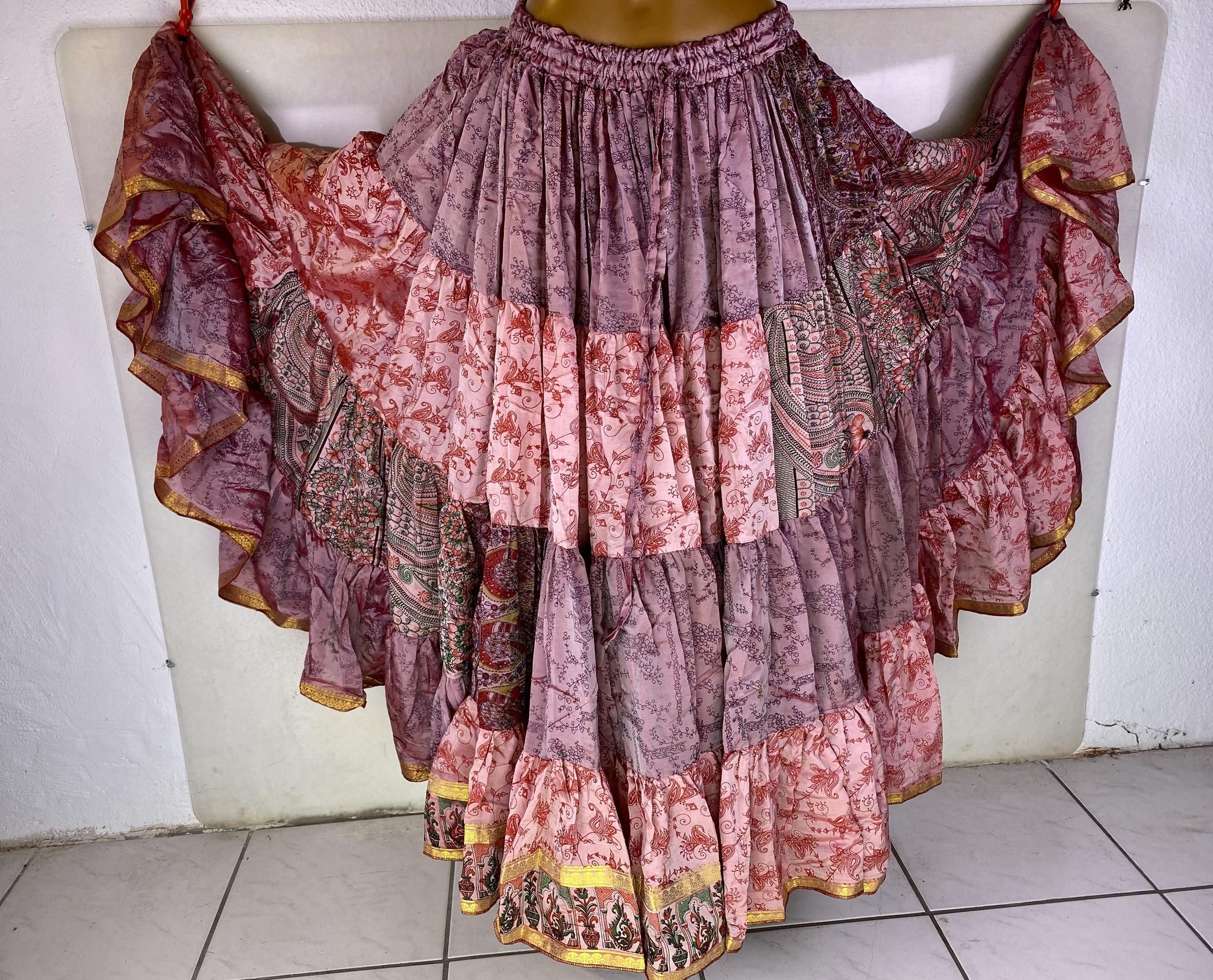 Vintage Saree Tribalskirt 24 yards