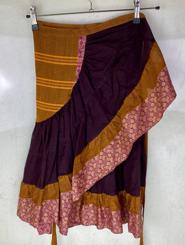 Wrap Skirt Cotton Saree