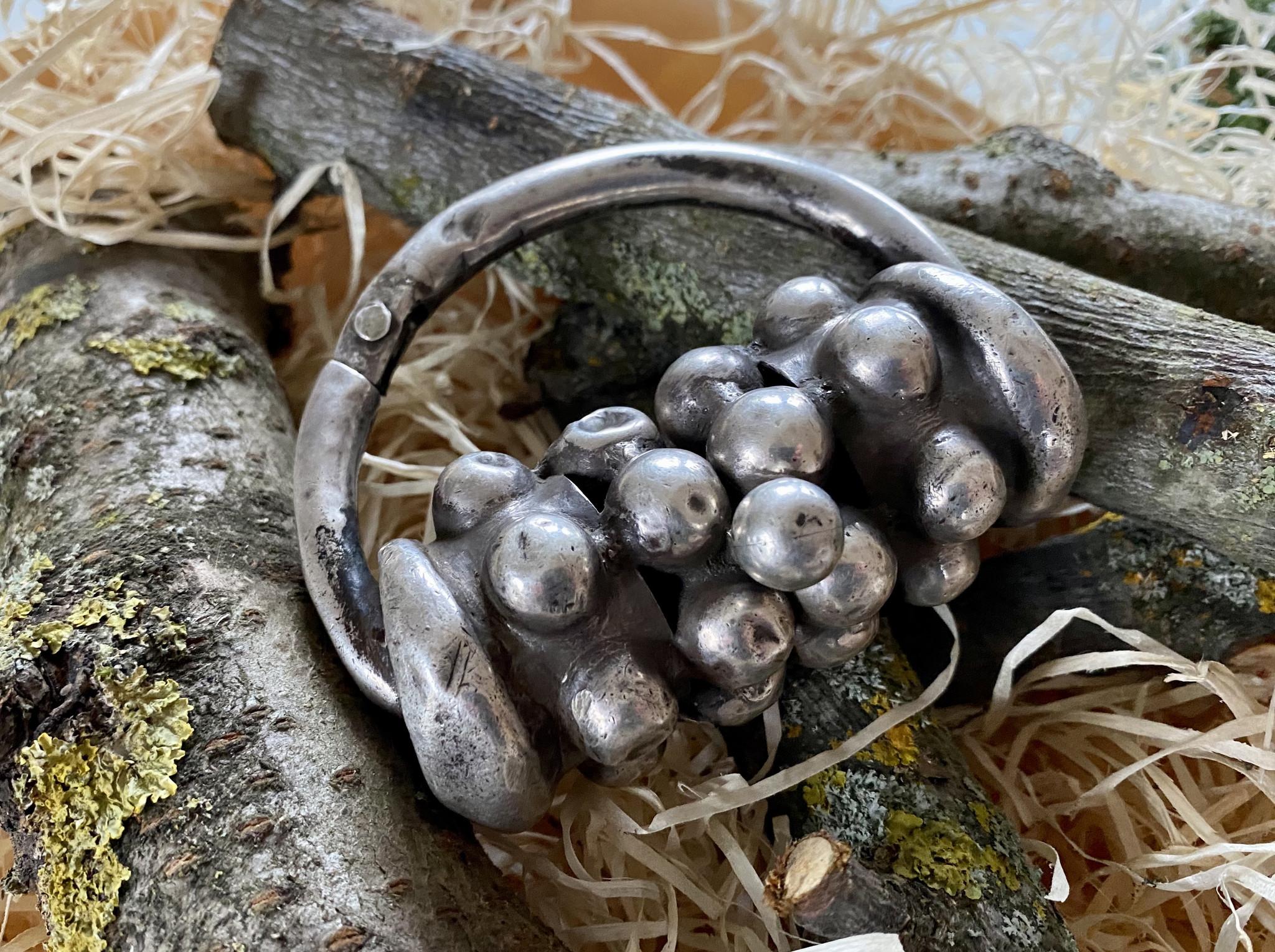 Silber Armreif
