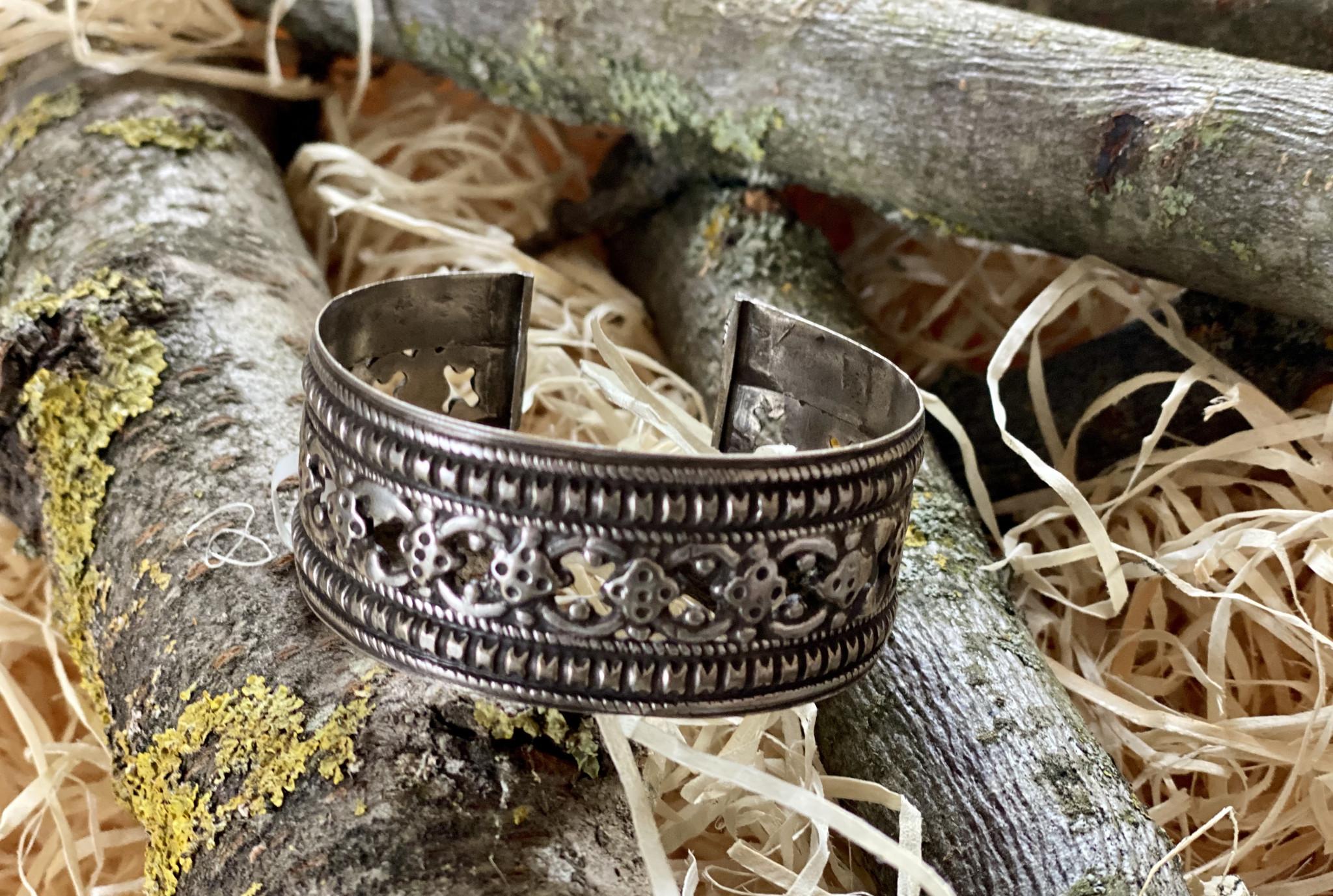 Alte Silber Armspange