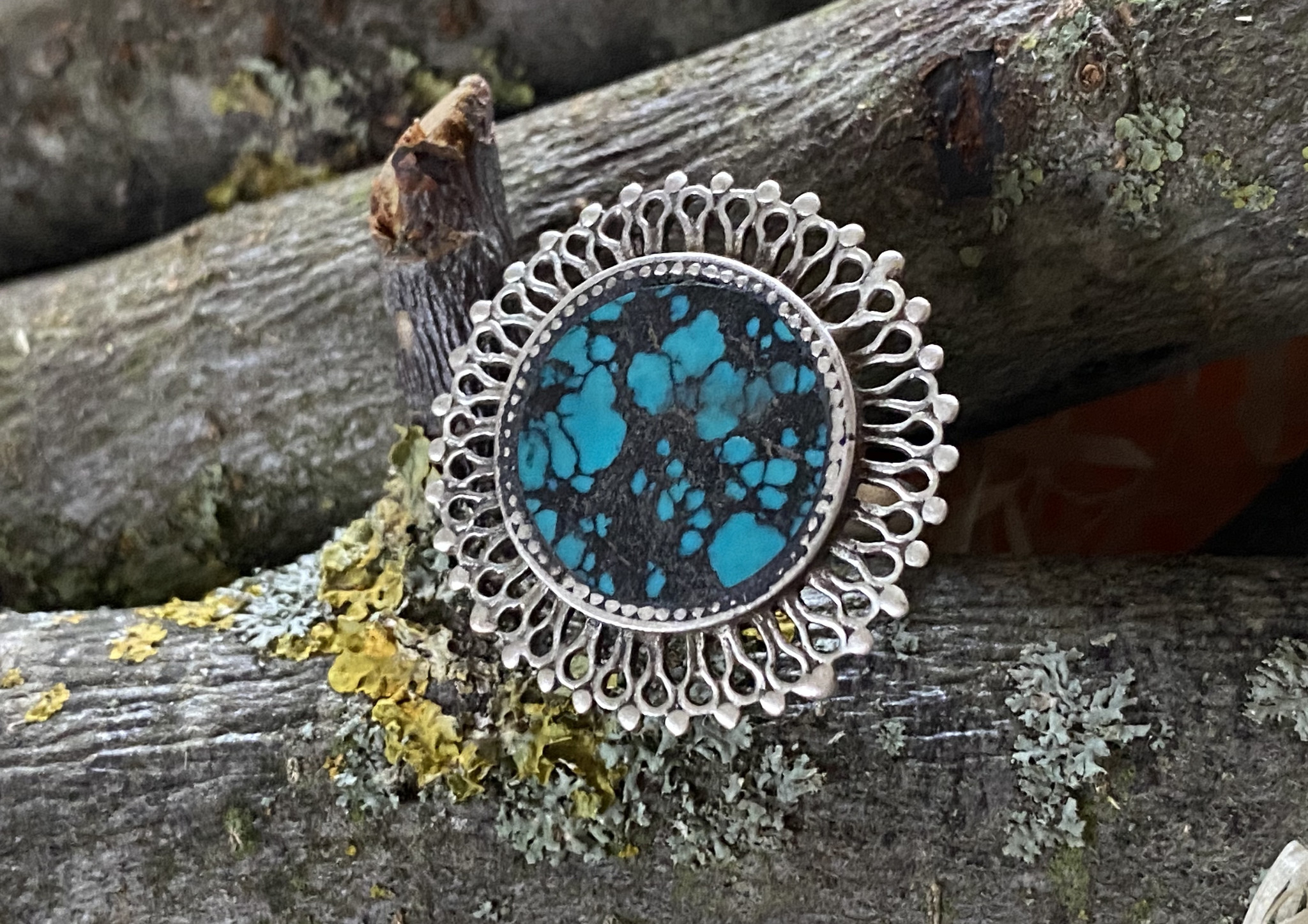 Silber Ring mit Türkis