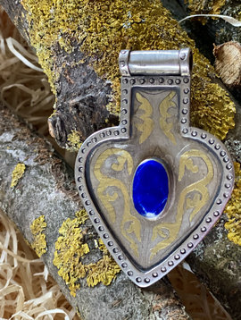 Turkmen heart pendant
