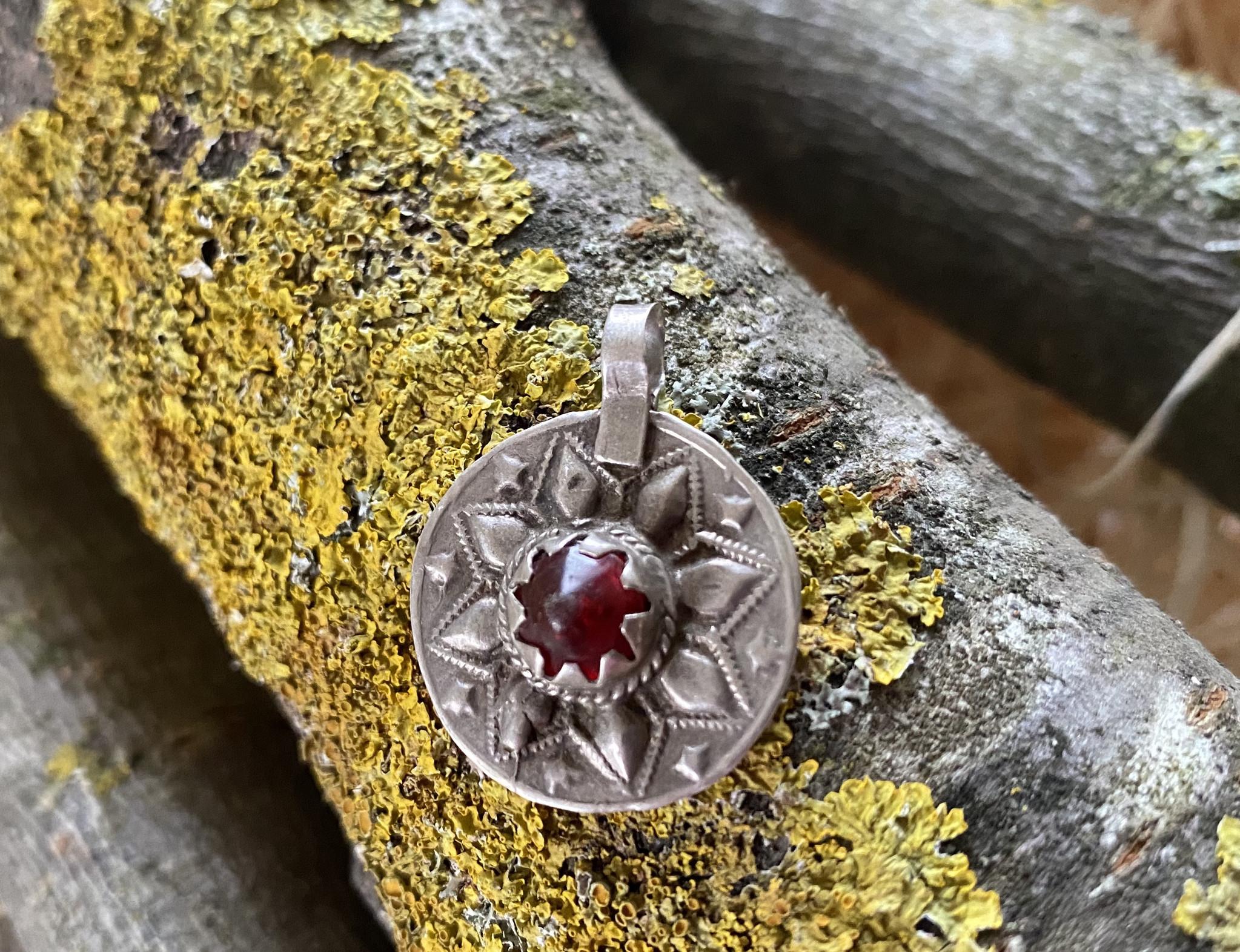 Small Silver Pendant