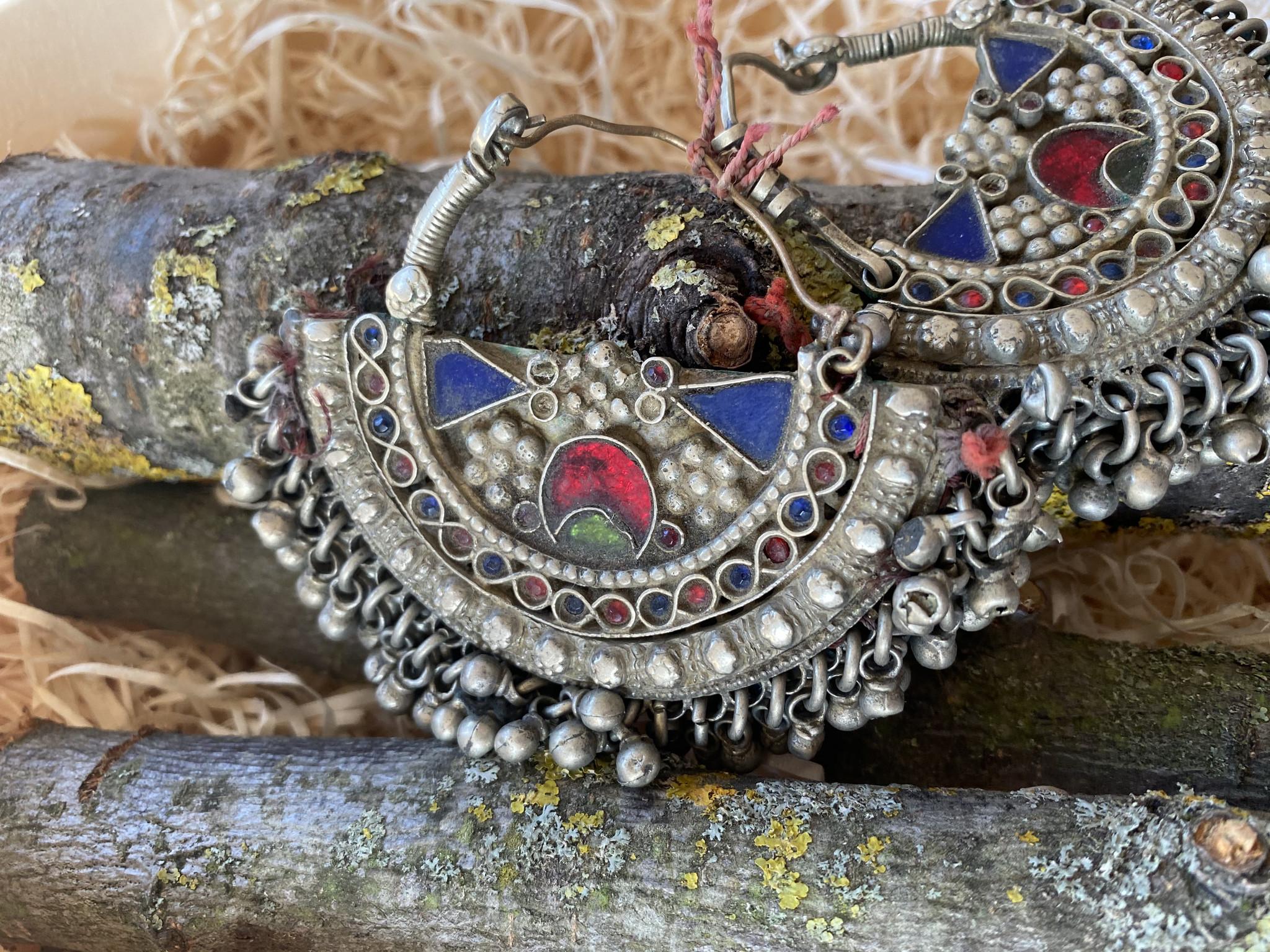 Große Tribal Ohrringe