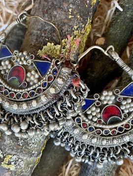 Large Tribal Earrings