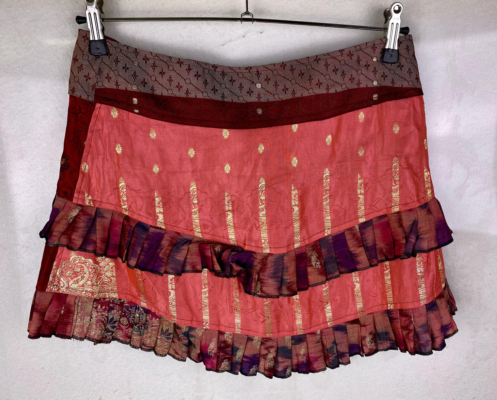Silk Wrapskirt Mini
