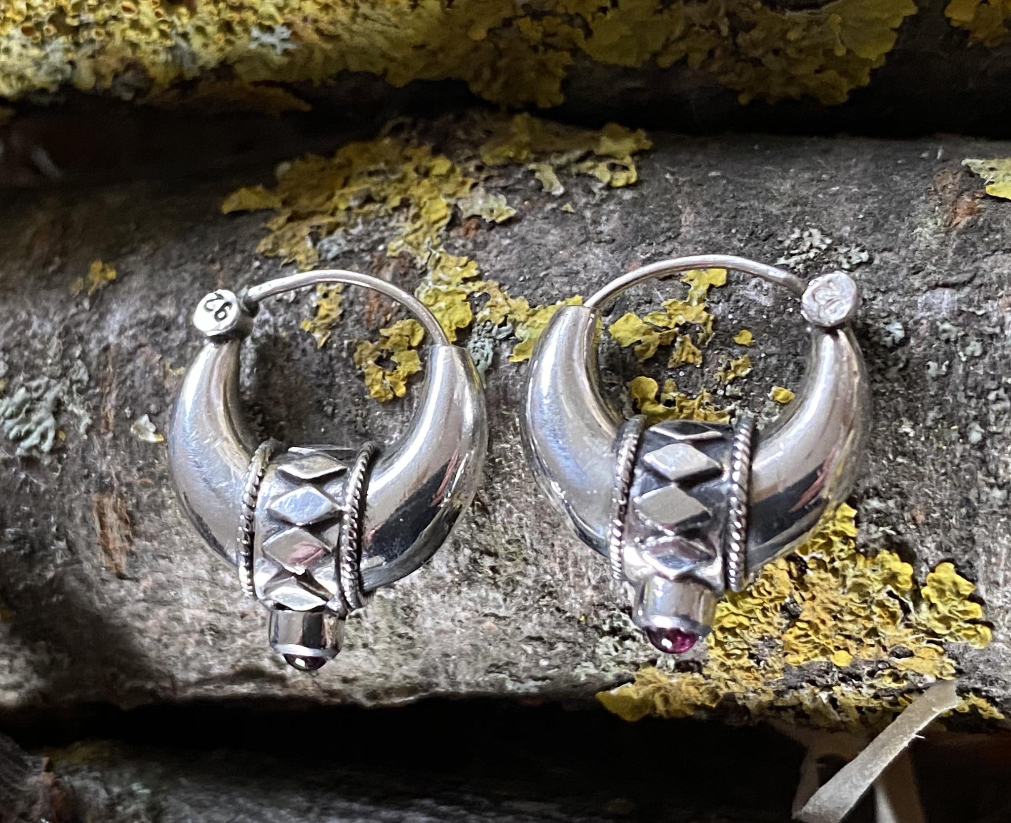 Bali Creolen, Silber klein