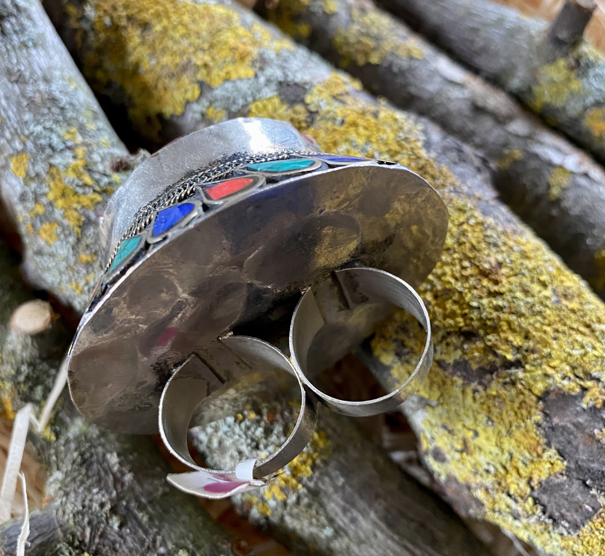 Tribal Doppel Ring