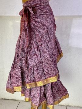 Wrap Skirt Vintage Sari