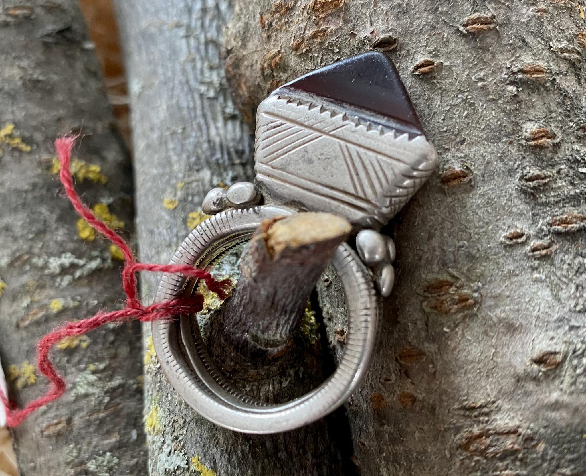 Tuareg Ring/ Amulett