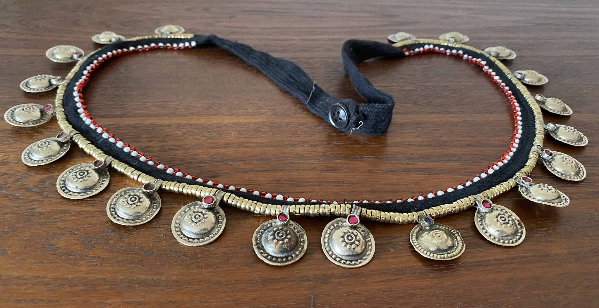Tribal Hüftgürtel  Tribalgürtel mit Buttons