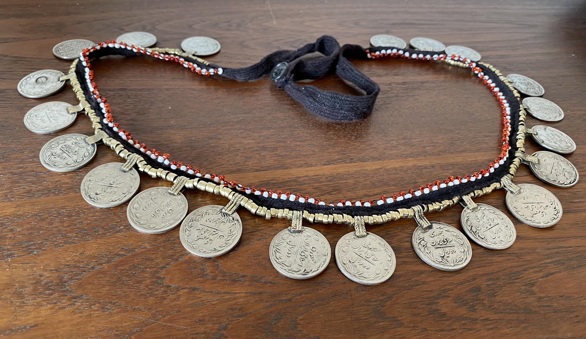 Tribal Hüftgürtel  Tribalgürtel mit Münzen