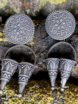 Banjara Tribal Ohrringe