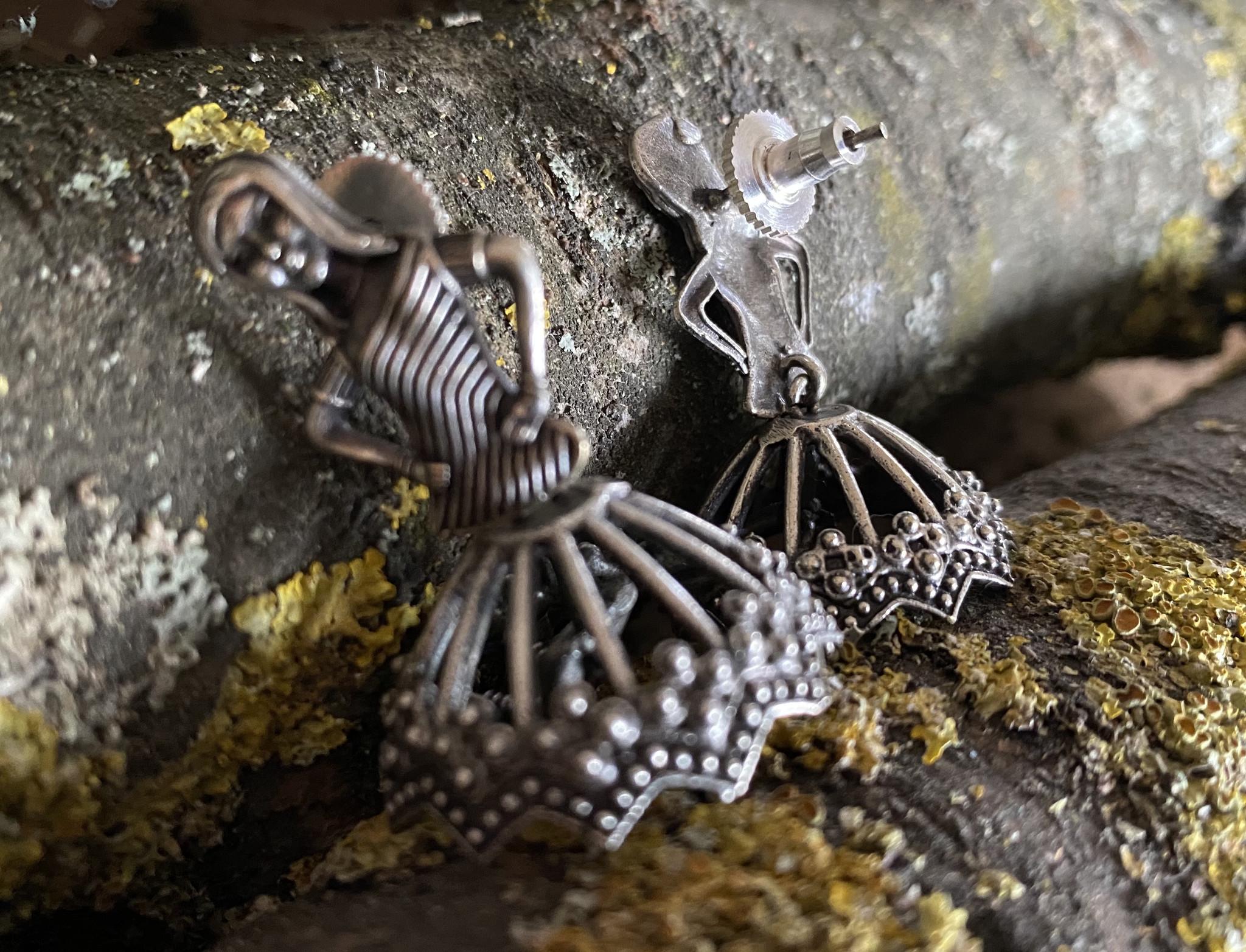 Banjara Tribal earrings Dancer