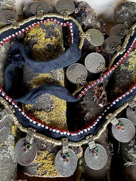 Tribal Belt with coins