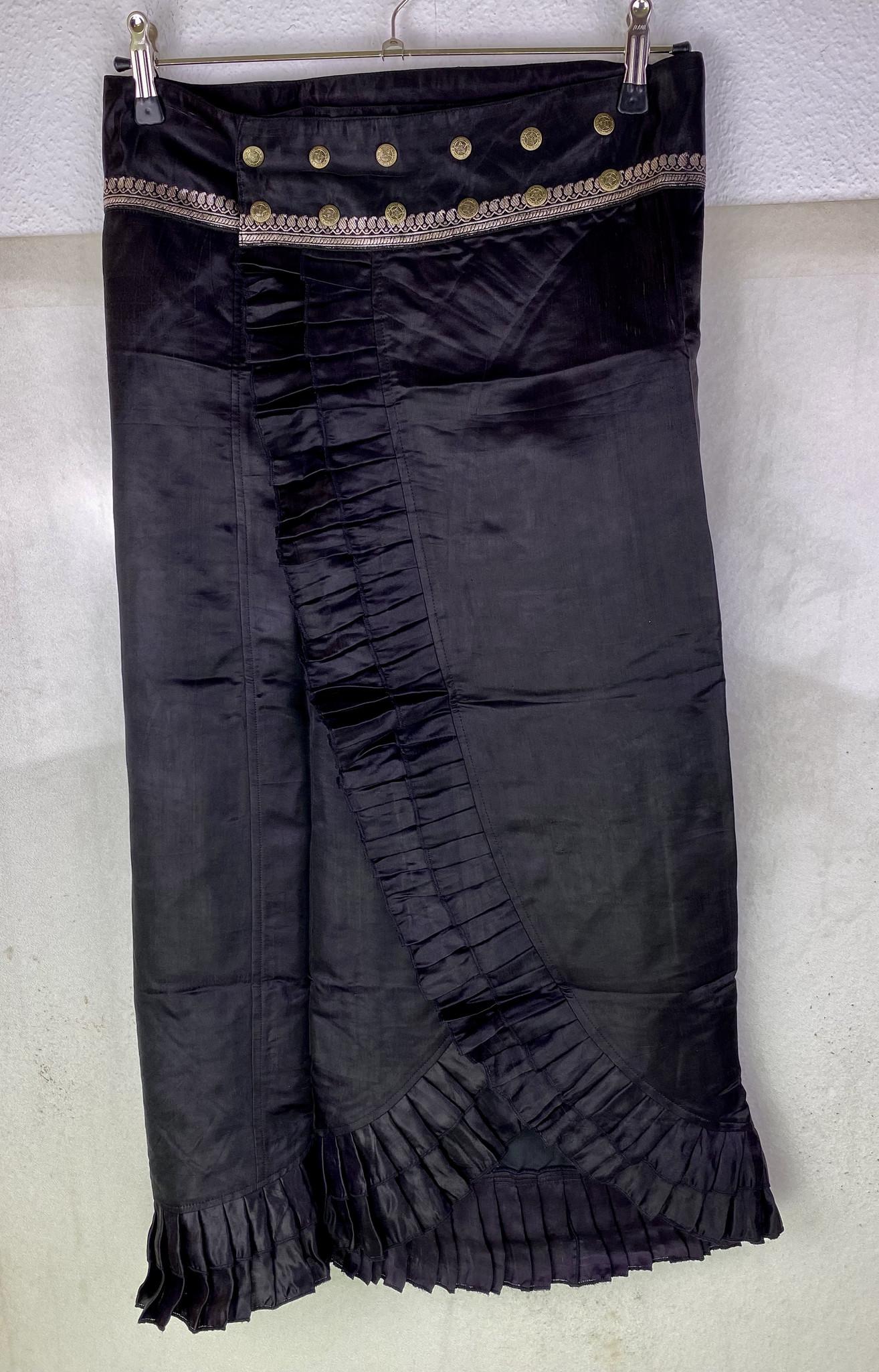 Silk Wrapskirt Maxi