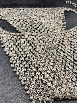 Tribal chain bra or slip