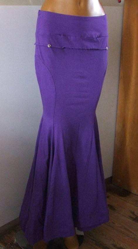 Silhouette Skirt/ Rock lila