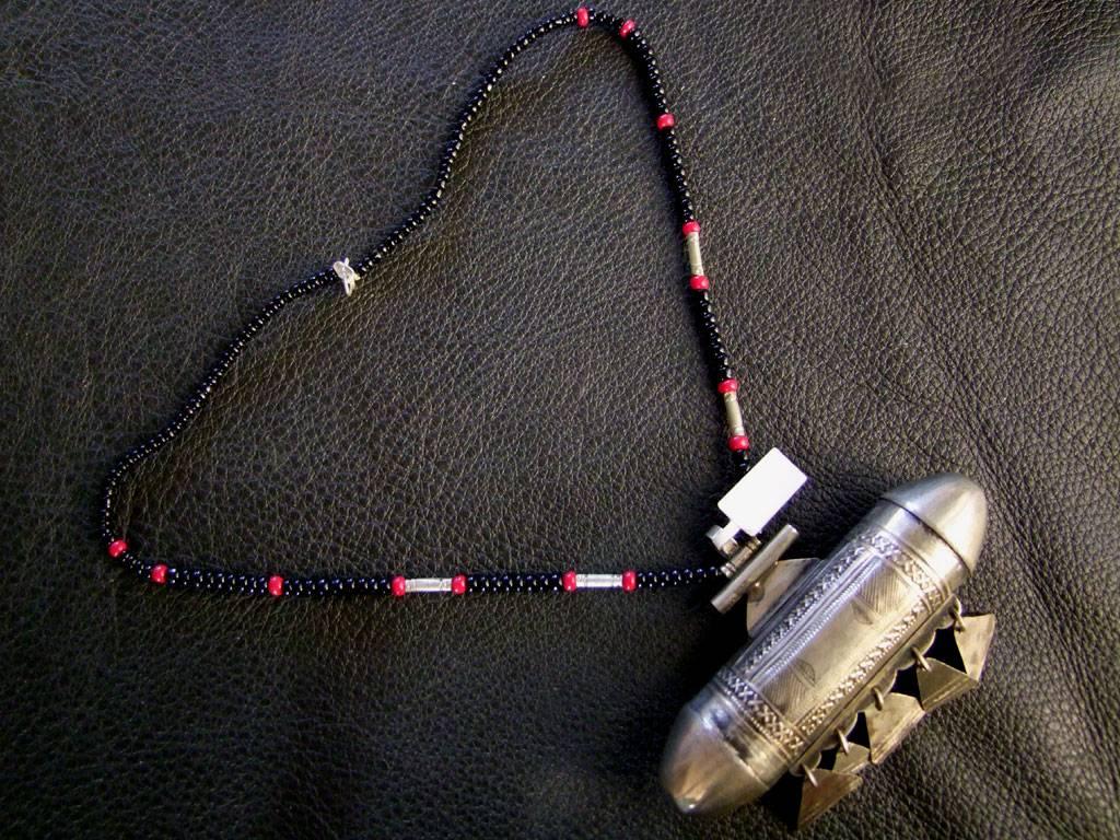 Tuareg pendant amulet