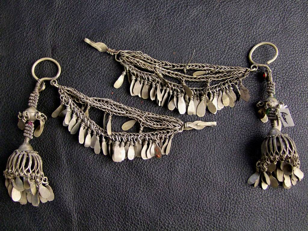 Tribal Headpiece/ earrings