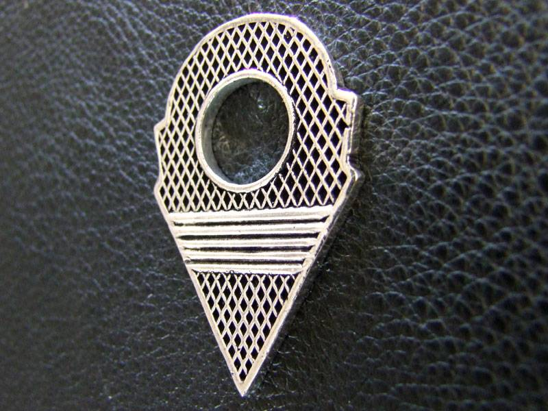 Talhakimt pendant, German silver