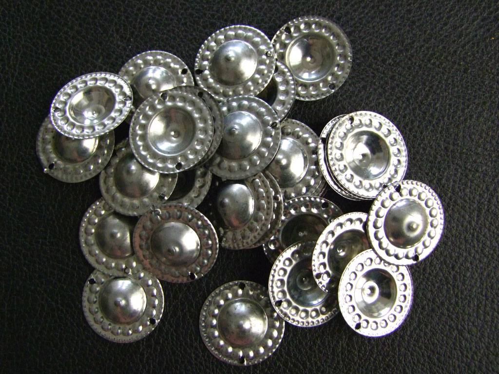 New Gillets, silver tone