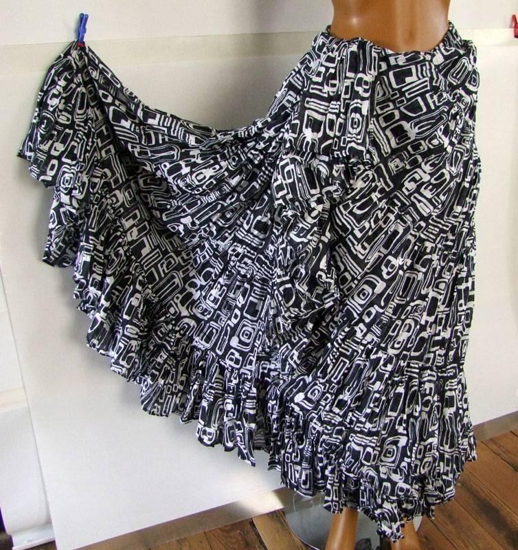 Tribal Skirt Blockprint style