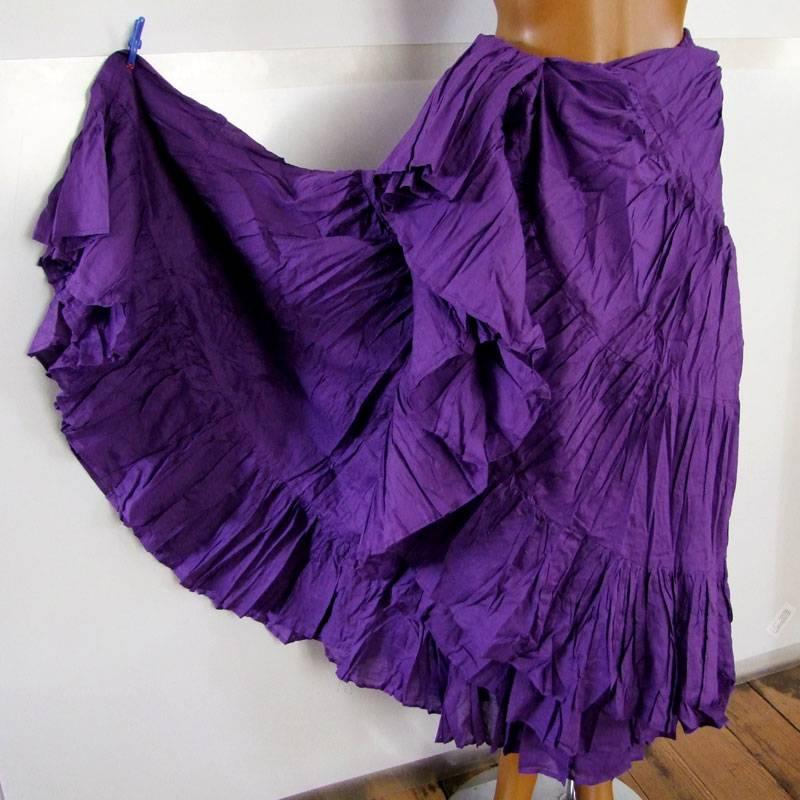 25 yards Tribalskirt purple