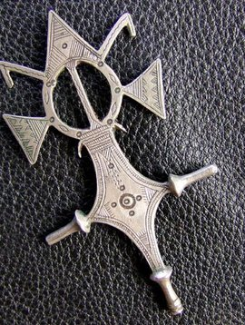 Tuareg Amulett/ Kreuz