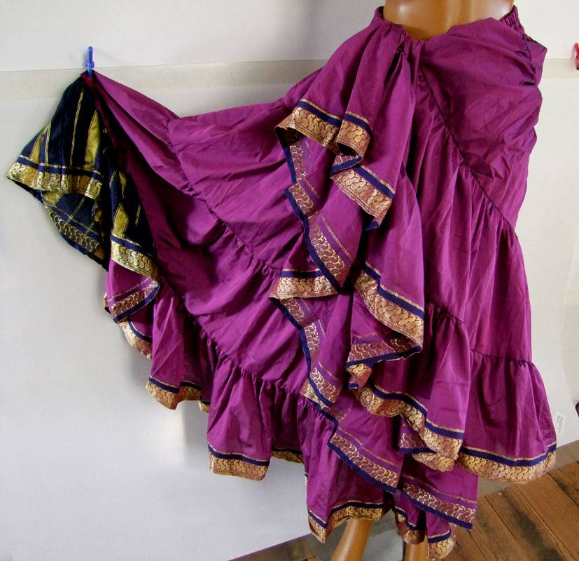 18 yards Saree Skirt