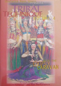 Gypsy Caravan Tribal Technique DVD # 4