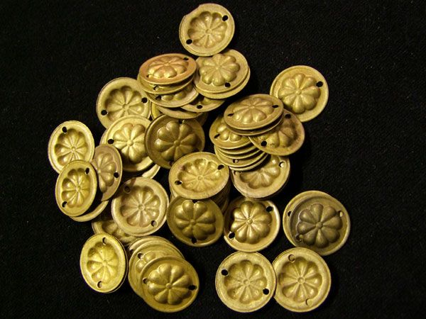 Tribal Gillet Plättchen gold