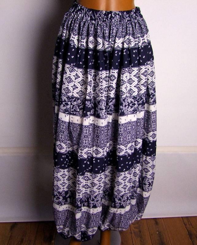 Pantaloon/ harem pants Blockprint style
