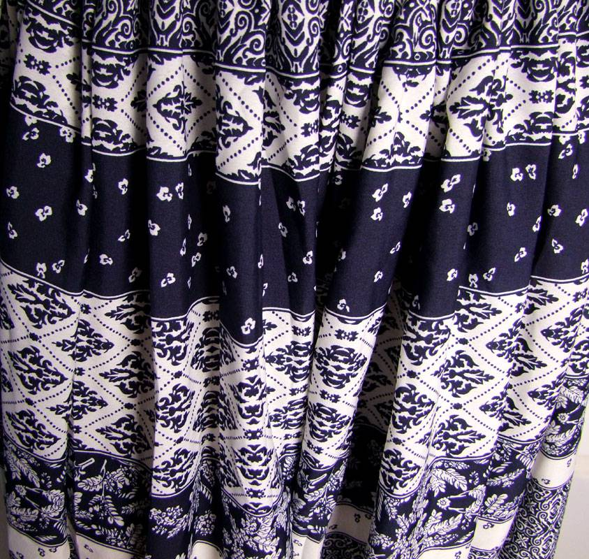 Pantaloon/ Pumphose Blockprint style
