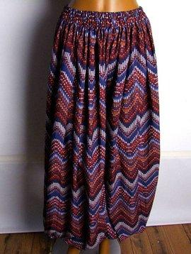 Pantaloon/ harem pants Ikat style