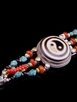 Armband mit Yin&Yan