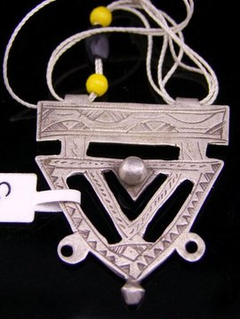 Tuareg Amulett, silber