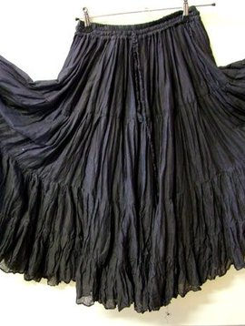 Tribalskirt 24 yards black