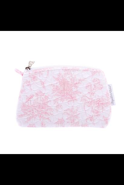 Platte tas Sweet Pink