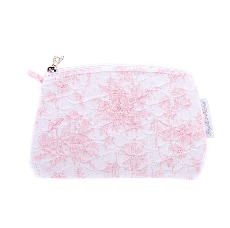 Flache Tasche Sweet Pink Theophile & Patachou-1
