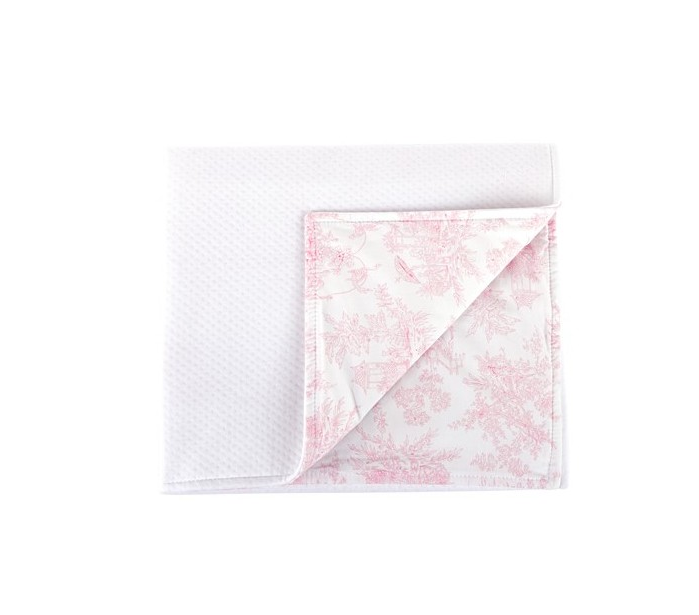 Deken 68x80cm Sweet Pink  Theophile & Patachou-1