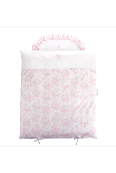 Quilt cover and pillowcase  Sweet Pink Theophile & Patachou