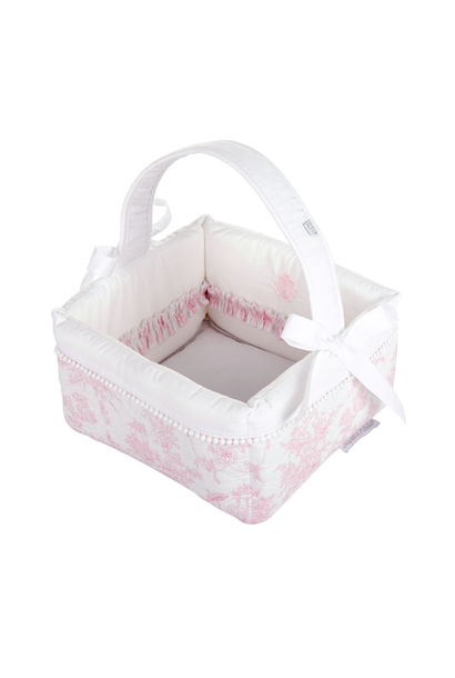 Offener Toilettenkorb Sweet Pink Theophile & Patachou