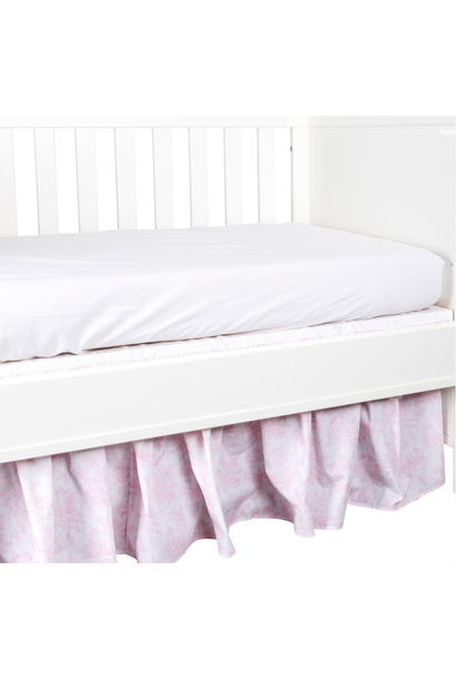 Bed skirt 70  Sweet Pink