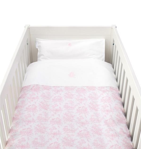 Donsovertrek bed met sloop  Sweet Pink Theophile & Patachou-1