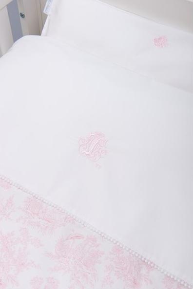 Donsovertrek bed met sloop  Sweet Pink Theophile & Patachou-2