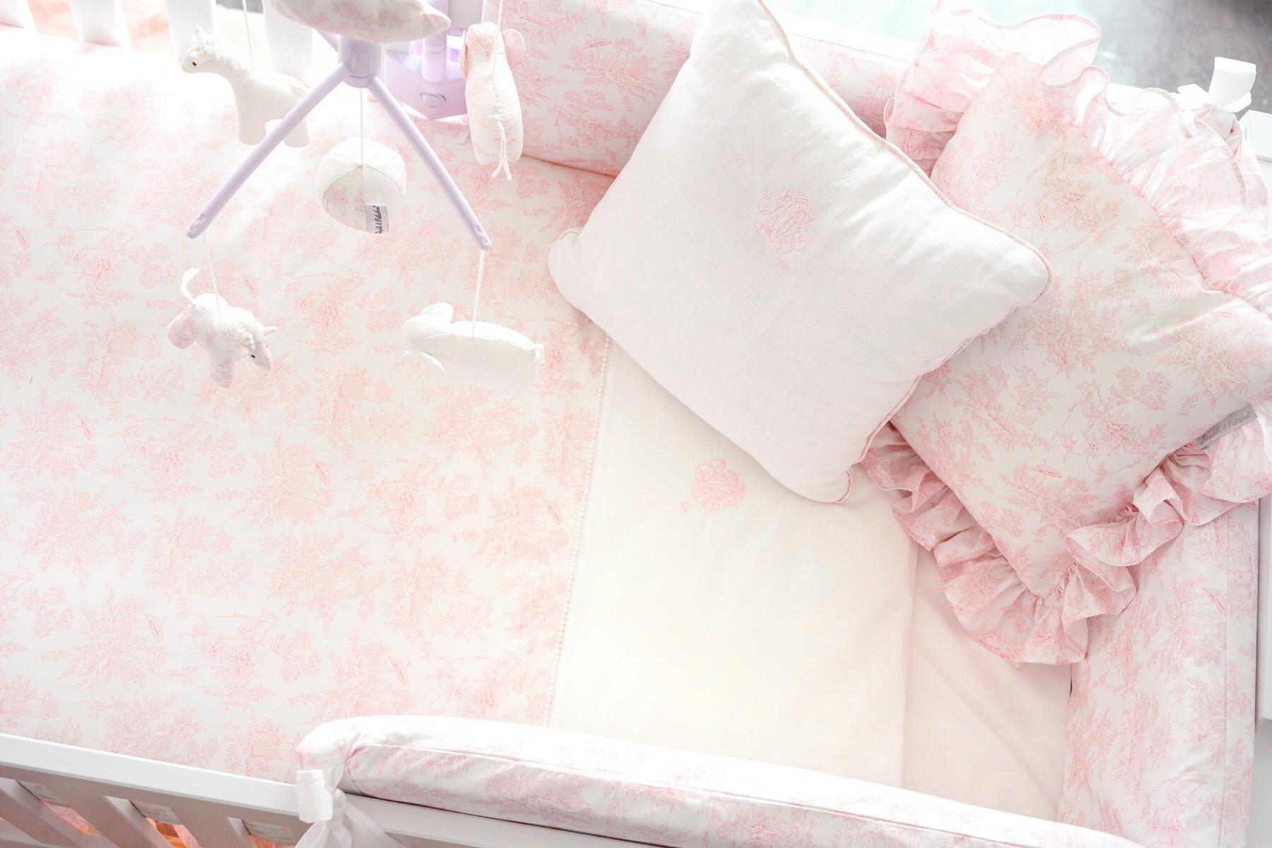 Donsovertrek bed met sloop  Sweet Pink Theophile & Patachou-3