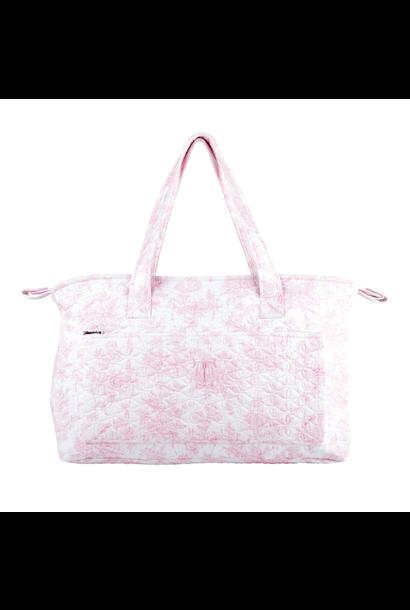 Pram holdall + changing mat Sweet Pink